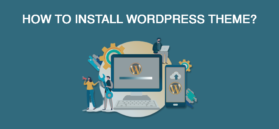 How do I manually install a WordPress theme?