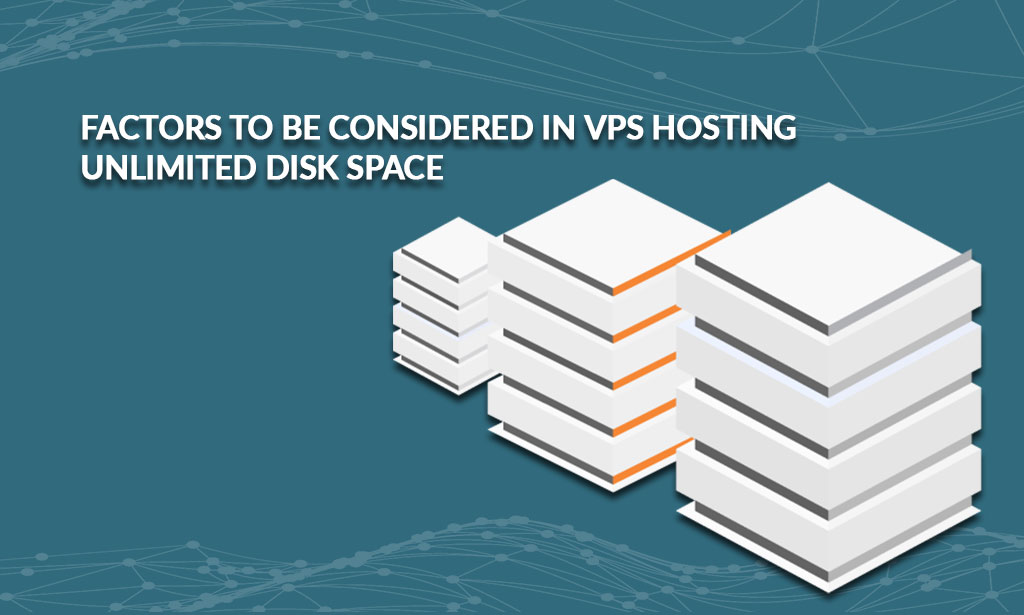 VPS hosting unlimited disk space
