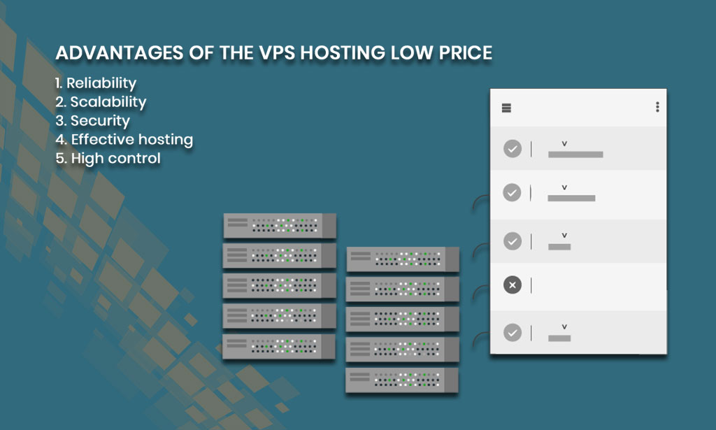 VPS hosting low price
