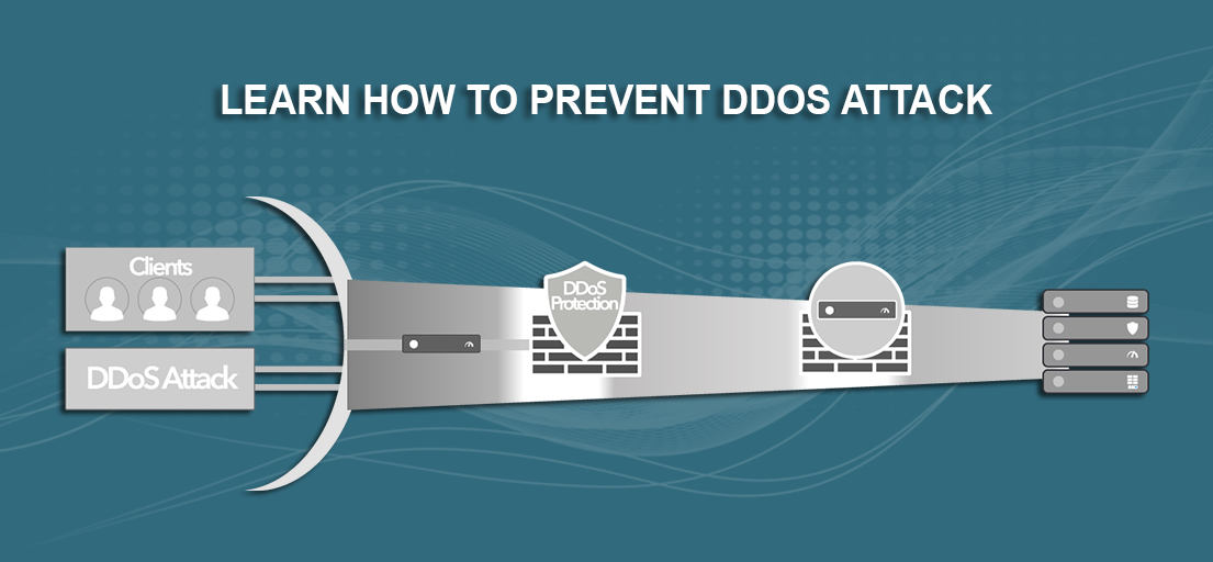 how to stop ddos attacks on my website