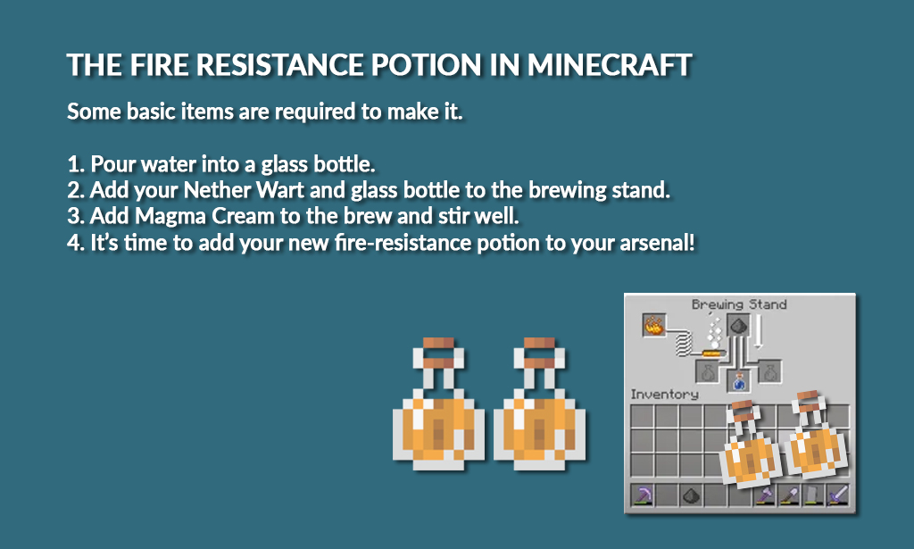 How to make glass bottle Minecraft